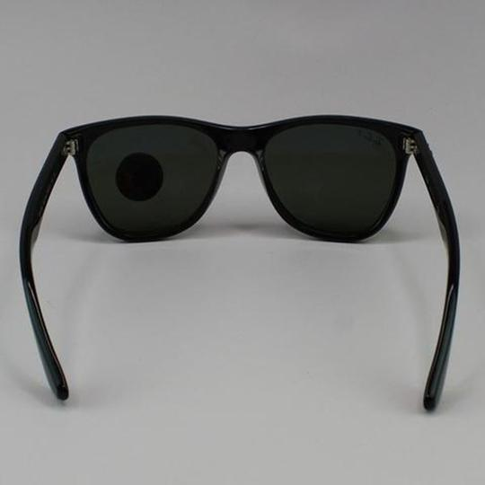 Ray-Ban Lens & Black Frame RB4184 601/9A Unisex Square Sunglasses Image 4