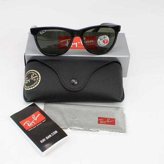 Ray-Ban Lens & Black Frame RB4184 601/9A Unisex Square Sunglasses Image 5