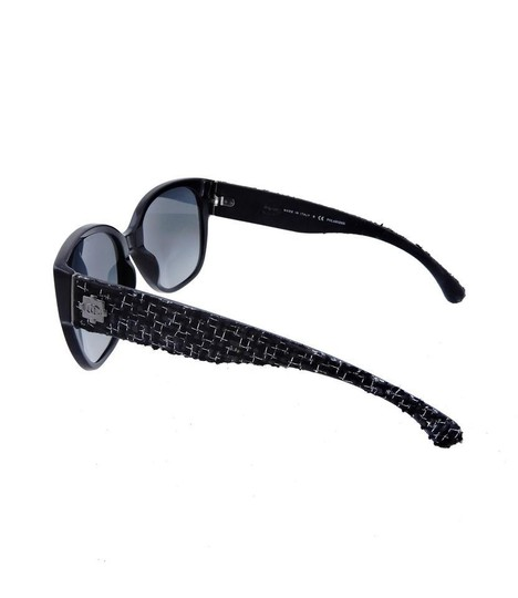 Chanel CH 5237 c.501/T3 Tweed Collection Sunglasses 56mm Image 5