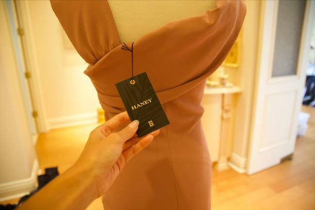 Haney Stretchy Fitted Dress Image 3