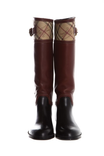 Burberry Black Boots Image 3