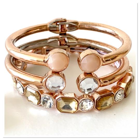 Macy's earrings and stackable bracelets set Image 1
