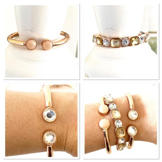 Macy's earrings and stackable bracelets set Image 2