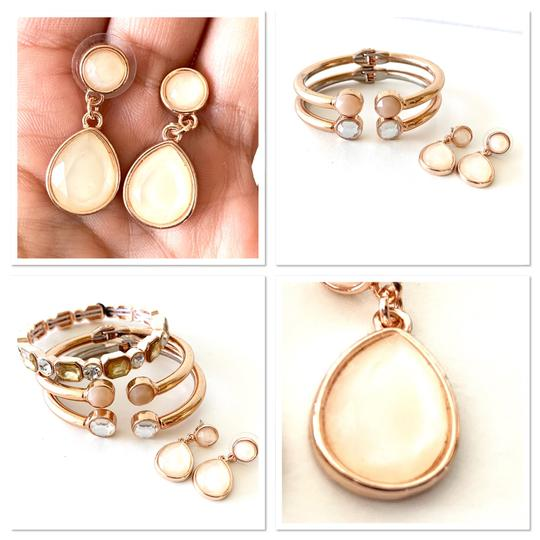 Macy's earrings and stackable bracelets set Image 3