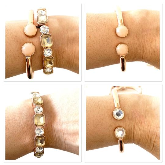 Macy's earrings and stackable bracelets set Image 6