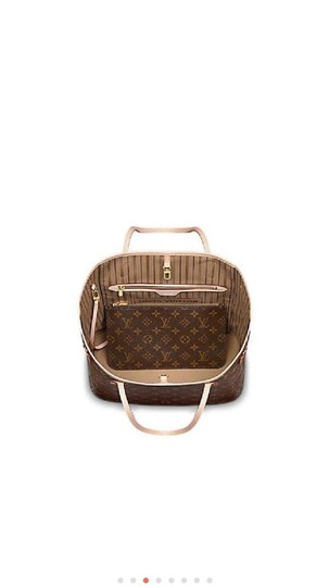 Louis Vuitton Neverfull Luxury Monogram Limited Edition European Tote in brown Image 3