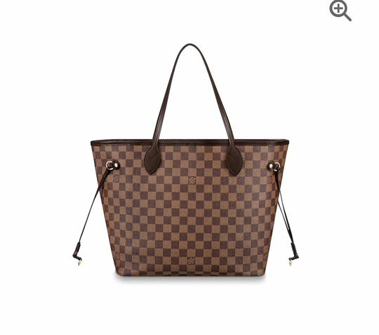 Preload https://img-static.tradesy.com/item/26149734/louis-vuitton-neverfull-new-mm-damier-with-red-lining-brown-leather-tote-0-1-540-540.jpg