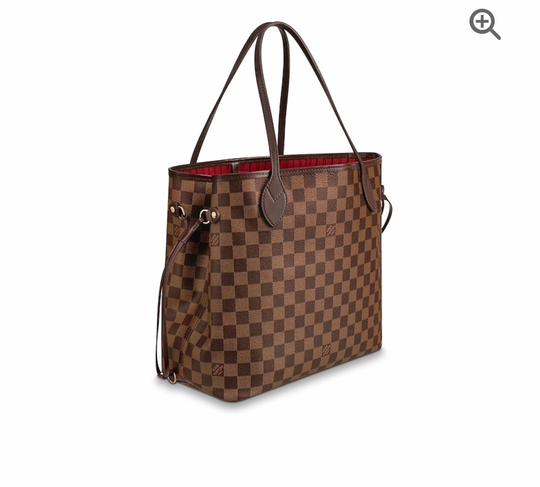Louis Vuitton Monogram Leather Luxury European Limited Edition Tote in brown Image 1