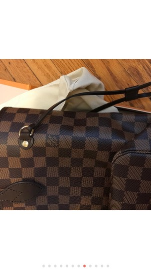 Louis Vuitton Monogram Leather Luxury European Limited Edition Tote in brown Image 6