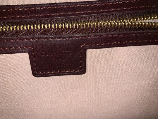 Louis Vuitton Satchel in Bordeaux Image 6