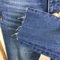 Madewell Raw Hems Deconstructed Distressed High Rise Skinny Jeans-Medium Wash Image 3
