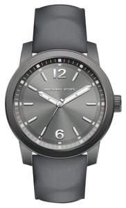 Michael Kors NEW Men's Vonn Three-Hand Gray Leather Watch MK8650