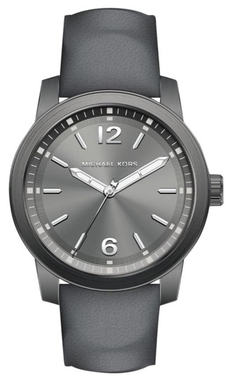 Preload https://img-static.tradesy.com/item/26149774/michael-kors-gray-new-men-s-vonn-three-hand-leather-mk8650-watch-0-1-540-540.jpg