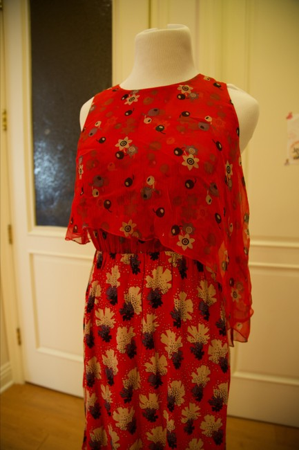 Anna Sui short dress Red and multicolor Floral on Tradesy Image 3