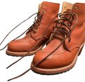 Red Wing Orange Boots Image 0