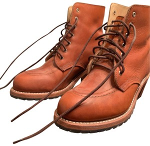 Red Wing Orange Boots