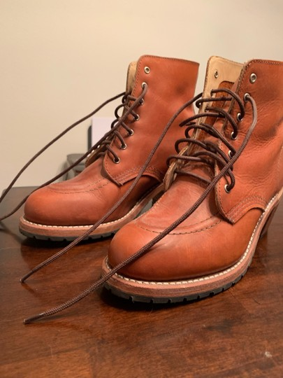 Red Wing Orange Boots Image 3