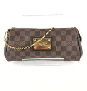 Louis Vuitton Eva Ebene BROWN Clutch