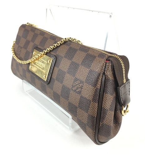 Louis Vuitton Eva Ebene BROWN Clutch Image 1