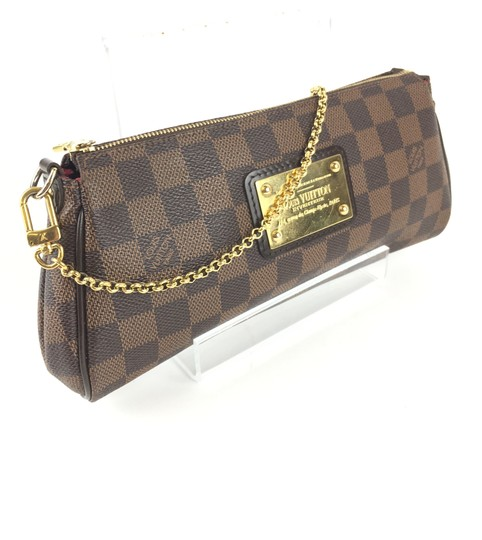 Louis Vuitton Eva Ebene BROWN Clutch Image 2