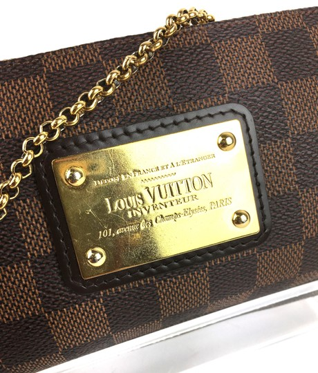 Louis Vuitton Eva Ebene BROWN Clutch Image 4