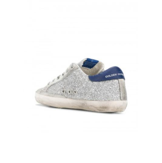 Golden Goose Deluxe Brand Silver Athletic Image 3