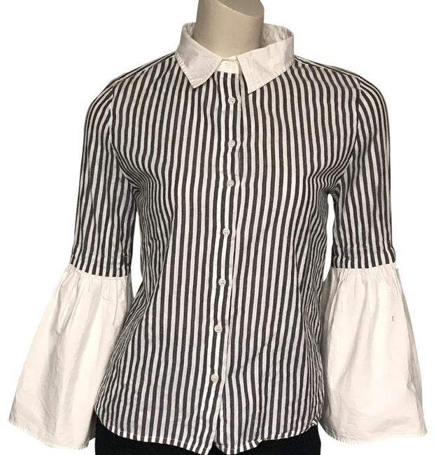 Preload https://img-static.tradesy.com/item/26149834/walter-by-walter-baker-grey-striped-button-down-top-size-8-m-0-1-650-650.jpg