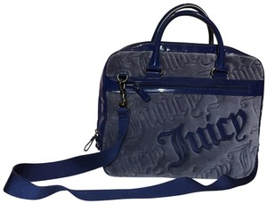 Juicy Couture Satchel in navy blue