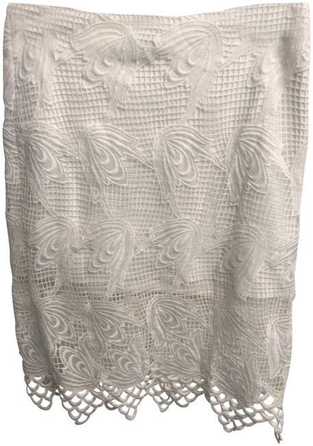 Item - White Lace Skirt Size 6 (S, 28)