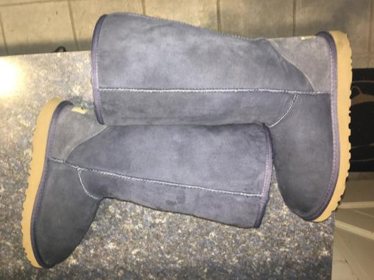 UGG Australia Tall Classic Navy Blue Boots Image 3