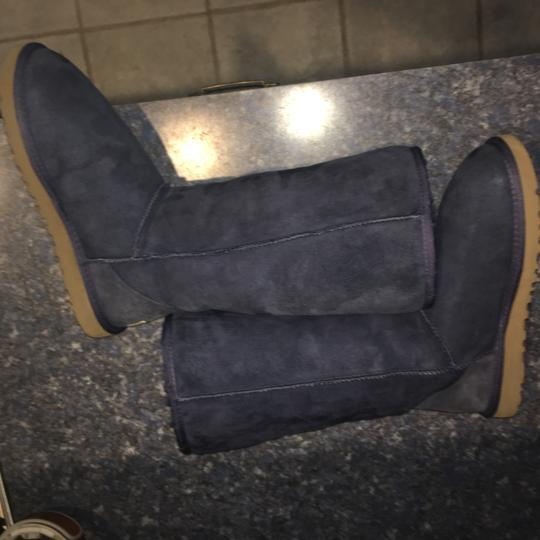 UGG Australia Tall Classic Navy Blue Boots Image 4
