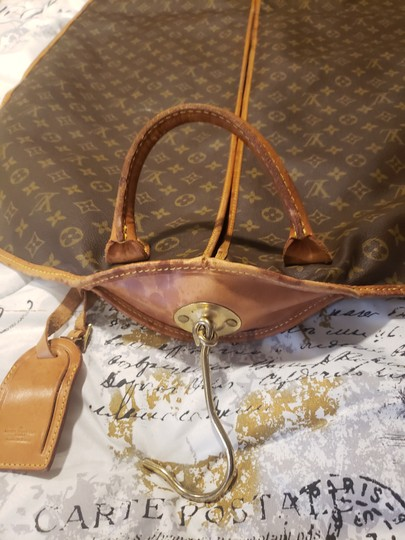 Louis Vuitton Brown & tan Travel Bag Image 3