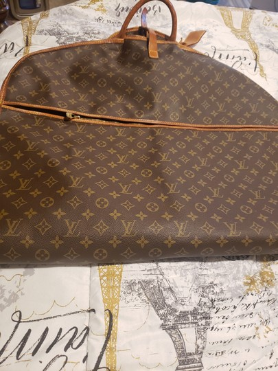 Louis Vuitton Brown & tan Travel Bag Image 4