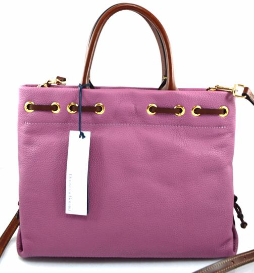 Dooney & Bourke Satchel in pink mauve Image 2