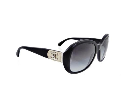 Chanel CH 5235Q c.501/3C Quilted Leather Round Butterlfy Image 6