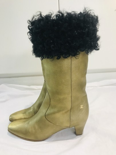 Chanel gold Boots Image 1