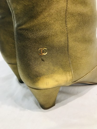 Chanel gold Boots Image 10