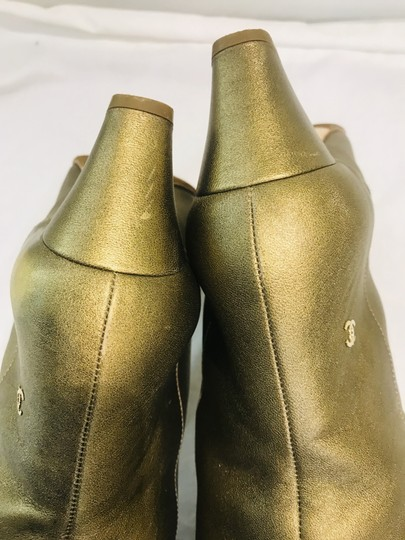 Chanel gold Boots Image 11