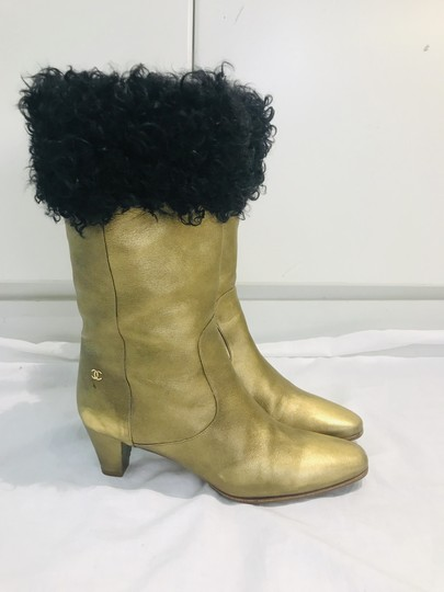 Chanel gold Boots Image 2