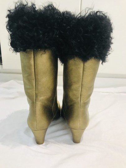 Chanel gold Boots Image 5