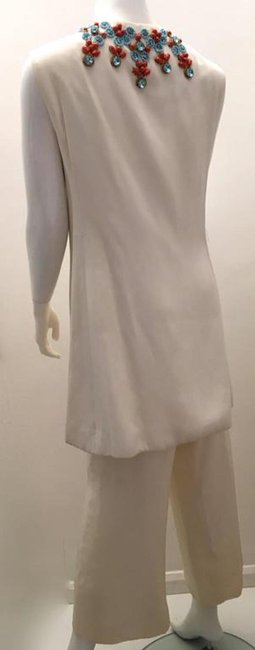 Malcolm Starr Fabulous Malcolm Starr Creme 2 Pc. Tunic - Ornate Beadwork Image 1