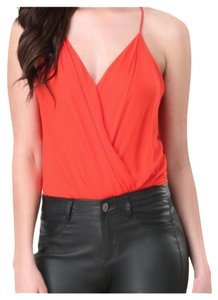 ANGL Red Halter Top