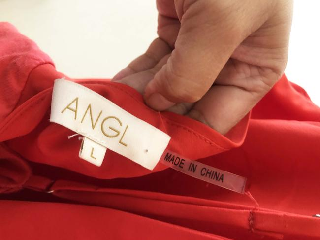 ANGL Red Halter Top Image 2