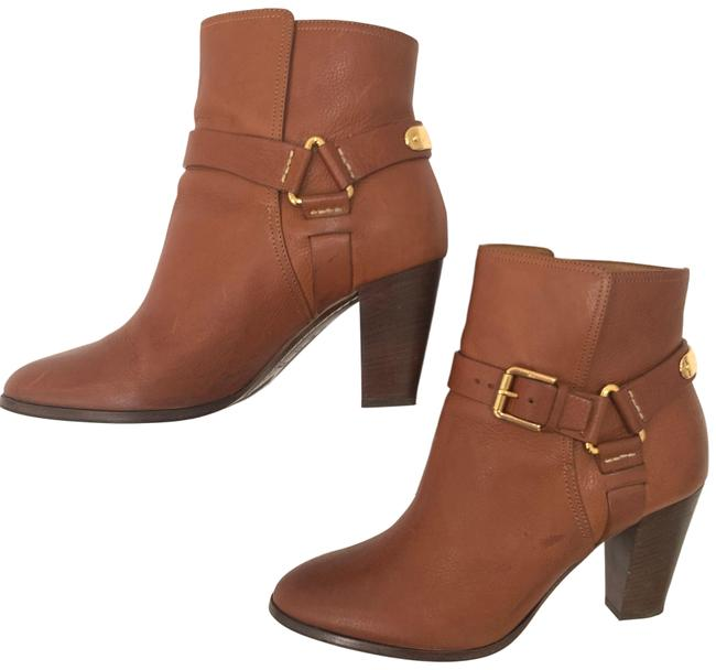 Item - Brown Buckle Boots/Booties Size US 9.5 Regular (M, B)