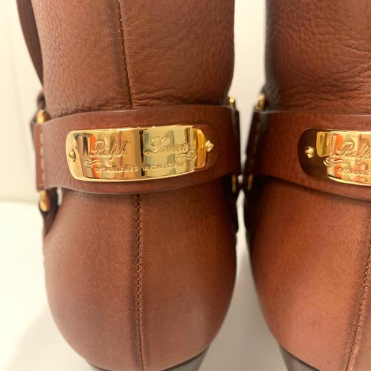 Ralph Lauren Collection Brown Boots Image 4