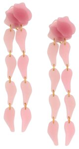 Lele Sadoughi Lele Sadoughi Pink Wisteria Petal Drop Earrings E902