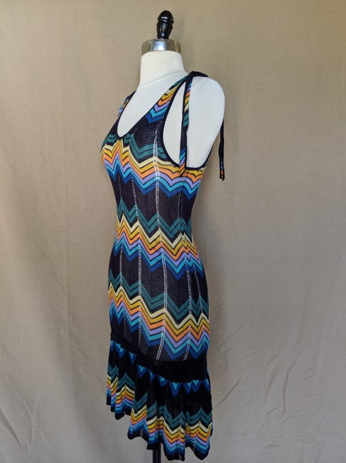 French Connection Chevron Print Dress Image 1