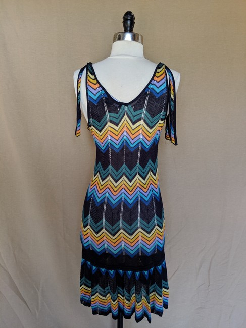 French Connection Chevron Print Dress Image 2