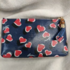 Gucci Wristlet in Blue, black and red