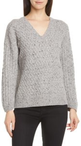 Vince Cable Merino V-neck Wool Sweater